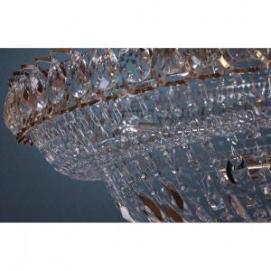 Фото Большие люстры Хрустальная люстра Водопад Большой