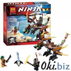 """Конструктор Bela Ninja 10447 """"Дракон Коула"""", 97 деталей, в коробке 19*17*4,5см."""