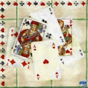 Фото Салфетки для декупажа, Сюжетные Салфетка Карты СД-032