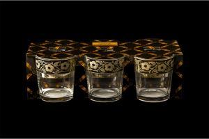 Фото Стаканы, Декорированные, Гравировка, напыление Набор стаканов