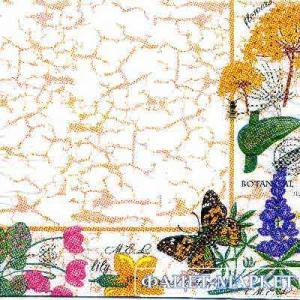 Фото Салфетки для декупажа, Цветы Салфетка Ботанический сад СД-147