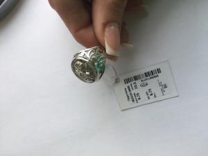 Фото Серебро со вставками золота, Кольца перстень 0523