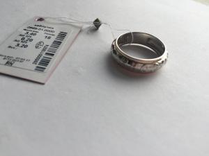 Фото Серебро со вставками золота, Кольца перстень Спаси и сохрани 0565