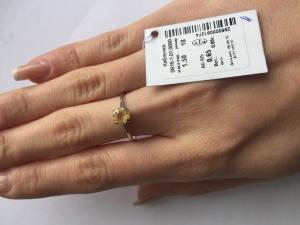 Фото Серебро со вставками золота, Кольца кольцо 0816