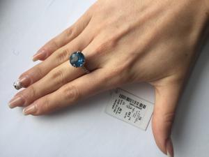 Фото Серебро со вставками золота, Кольца кольцо 0817