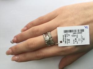 Фото Серебро со вставками золота, Кольца кольцо 0861