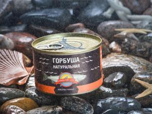 Фото Рыбные консервы Горбуша натуральная
