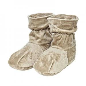 Фото  Ароматические травяные носки-грелки, цвет бежевый