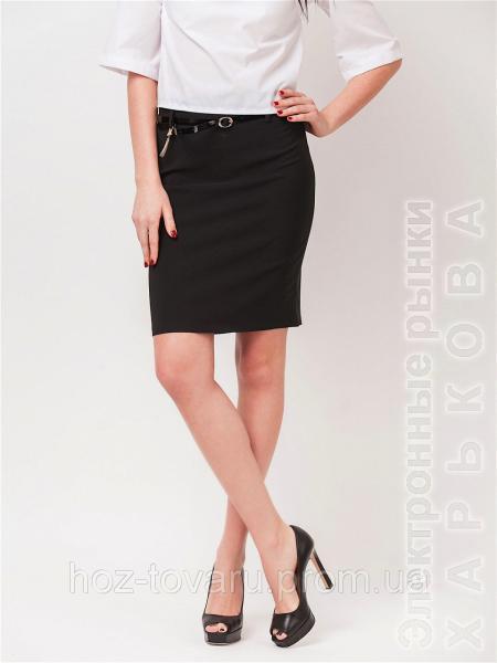 Прямая юбка для офиса