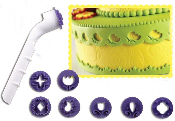 Инструмент при украшения тортов мастикой