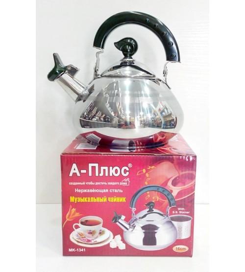 Фото Чайники, Чайники из нержавеющей стали Чайник 2л А-плюс 1343-WK