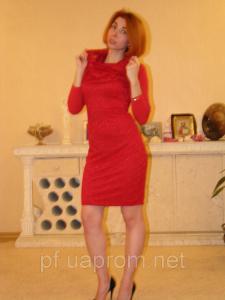 Фото Платья Платье гипюр с капюшоном