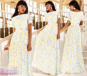 Фото Максі плаття Органза