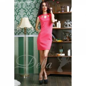 Фото Платья Платье из дайвинга с вырезами №036