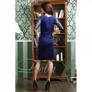 Фото Платья Платье франц. трикотаж верх гипюр №035