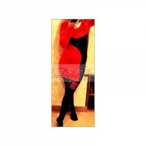 Фото Платья Платье франц. трикотаж с эко кожей №012