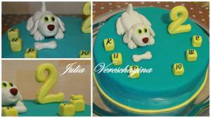 Фото Торты, Детские торты Торт Собачка