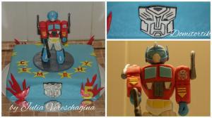 Фото Торты, Детские торты Торт Трансформеры (Прайм)