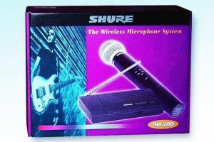 Фото Кронштейны для телевизоров и мониторов, Микрофоны Радиомикрофон микрофон Shure SH-200