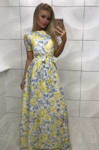 Фото Хіти продаж Плаття максі квіти