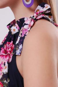 Фото Одяг з вишивкою Плаття шифон квіти