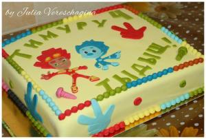 Фото Торты, Детские торты Торт Фиксики