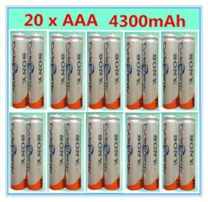 Фото  Ni-mh AAA HR03 3A аккумуляторы 1.2 В 4300 мАч