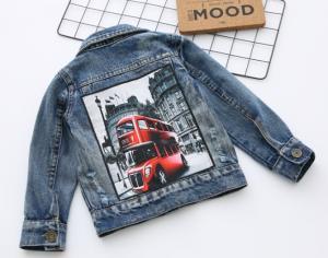 Фото Одежда для мальчиков. Куртка джинсовая детская.