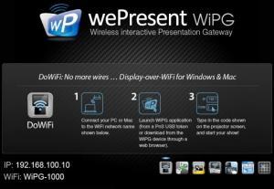 Фото Бездротові пристрої  Презентації по Wi-Fi wePresent WiPG-1000. Точка доступу