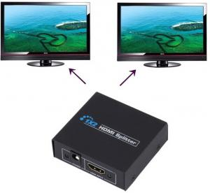 Фото Спліттери Спліттер 1х2 HDMI v1.3b Full HD 1080 P