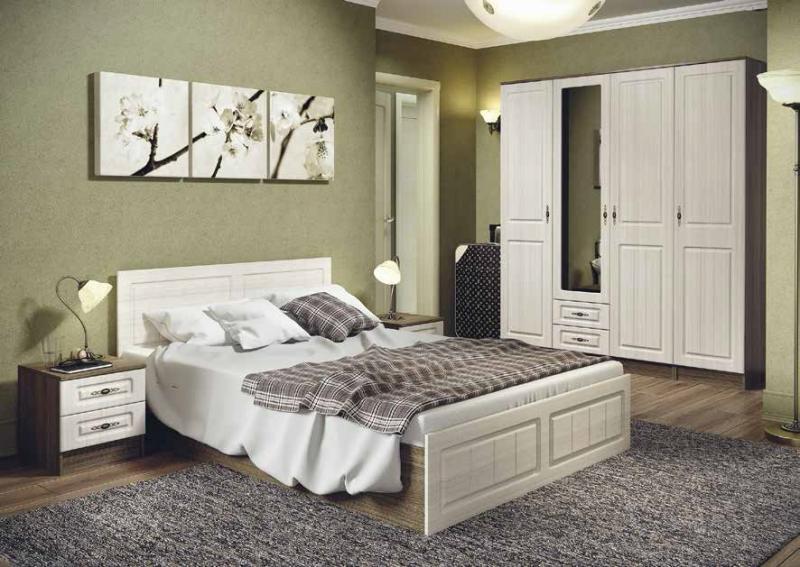 Фото Кровати Ницца кровать 1,6м (ДСВ МЕБЕЛЬ)