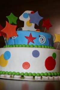 Фото Торты, Детские торты Фейерверк радости