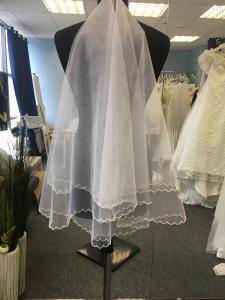 Фото Свадебная фата Фата