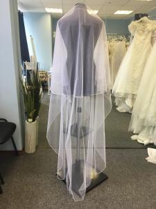 Фото Свадебная фата Фата 3 метра белая