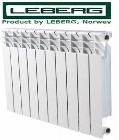 Биметаллический радиатор LEBERG 500x80 (Норвегия)