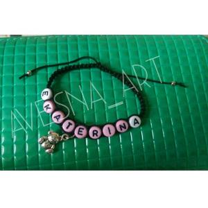 Фото Плетенные браслеты, красная нить, браслеты от сглаза Браслет именной