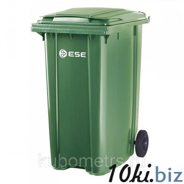 Пластиковые уличные контейнеры для мусора 120л