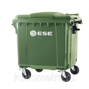 Фото  Мусорные контейнеры пластиковые  1,1м3