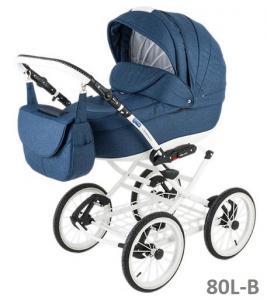 Фото Коляски, Классические коляски 2 в 1 Классическая коляска (2в1) BEBE-MOBILE SANTANA (2в1)