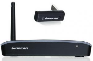 Фото Бездротові пристрої Iogear GUWAVKIT4B Бездротовий комплект HDMI+VGA+звук до 10 м