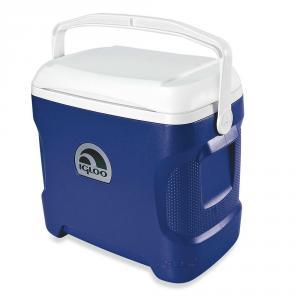Фото  Изотермический контейнер (термобокс) Igloo Contour 30, синий, 29 л.