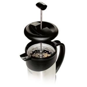 Фото ТЕРМОС С ПНЕВМОНАСОСОМ Термос-кофеварка NCI 1000 Caffee Plunger (1 литр) с прессом, 1 л.