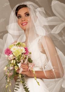 Фото Свадебная фата V0531 Фата