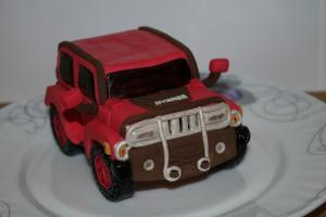 Фото Торты, Торт-прикол Торт Автомобиль Hummer (Хаммер)
