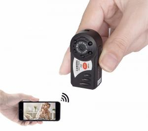 Фото Шпионская мини видеокамера Wi-Fi Мини видеокамера ночного видения Q7