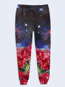 Фото Женская одежда, БРЮКИ БРЮКИ SPACE FLOWERS