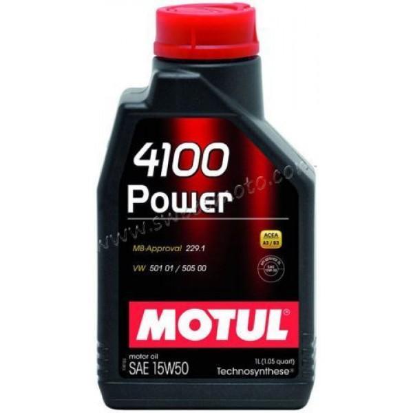 Фото Масла и химия MOTUL 4100 Power, 2л.