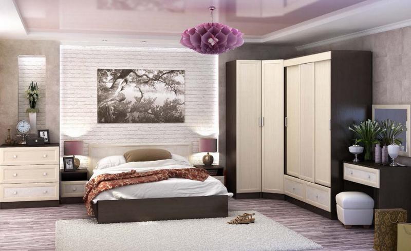 Фото Кровати Кровать Барселона 1,4м венге/белфорт (Стендмебель)