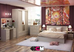 Модульная спальня Барселона ЛДСП (Стендмебель)