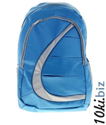 """Рюкзак молодёжный """"Волна"""", 1 отдел, 2 наружных кармана, 2 боковых кармана, цвет сине-серый"""